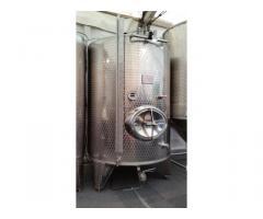 11 Stück Edelstahl-Weinlagertank Typ RSM (R)