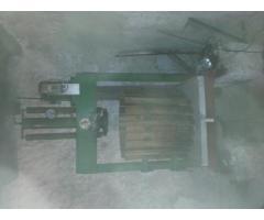 Hydraulische Korbpresse